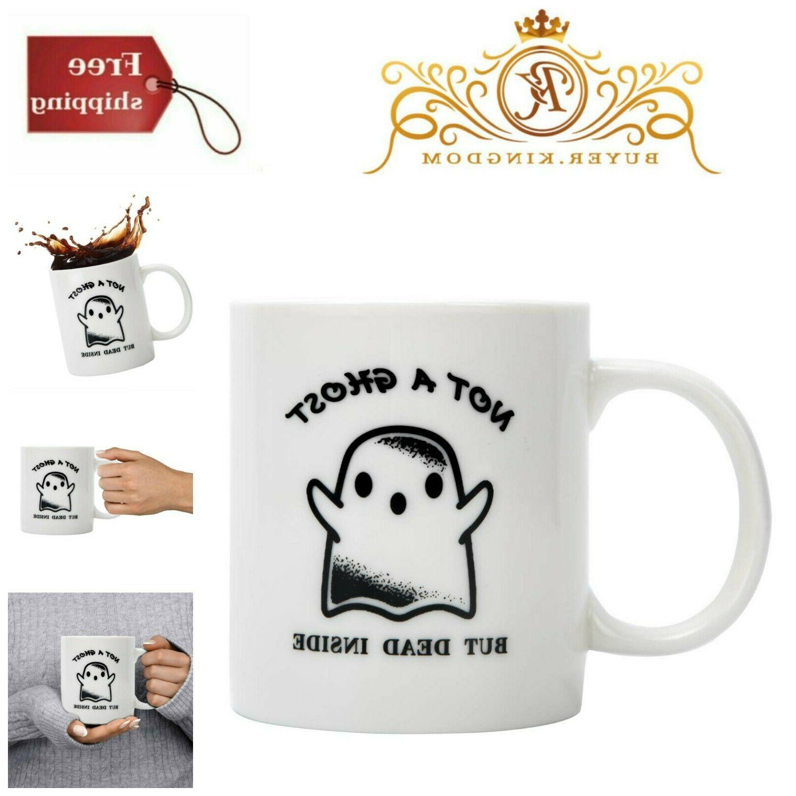 Unique Gift Coffee Mug Funny Words Cup White Glossy Ceramic