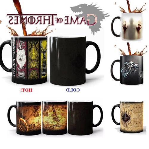 US Heat Sensitive Color Changing Coffee Mug Game of Thrones