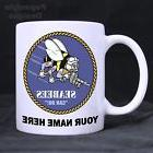US Navy Seabees Personalized 11oz Coffee Mugs Made in the US