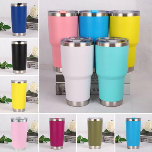 Hot 20 oz Stainless Steel Vacuum Tumbler Insulated Travel Co