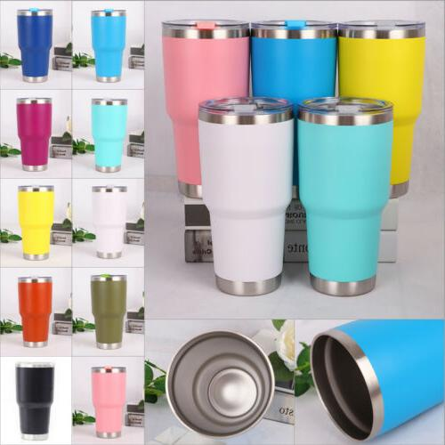 US New Steel Vacuum Travel Cup Flask