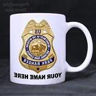 US Park Ranger Law Enforcement Personalized Coffee Mugs. Mad