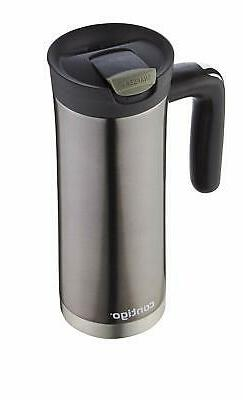 Vacuum SnapSeal oz Stainless Mug Coffee Hot Cold