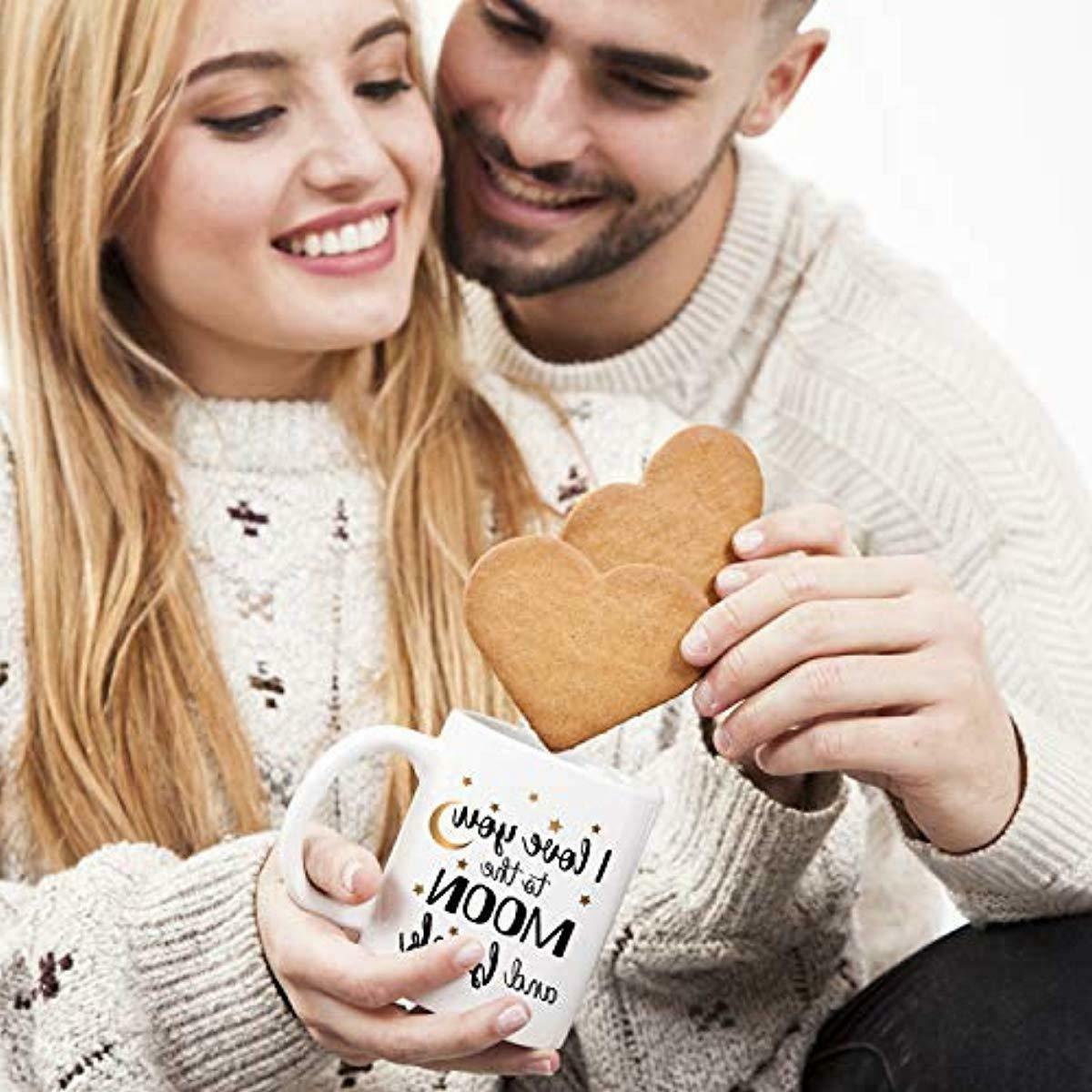 Valentine's Funny Love You Back Ceramic