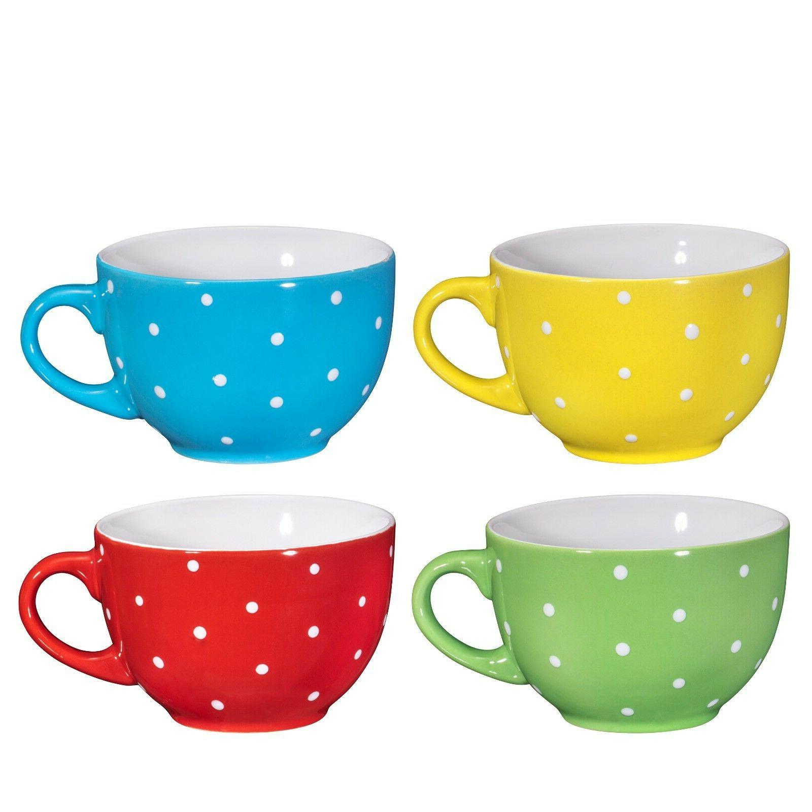 Bruntmor Ceramic Coffee Mug 24 Set