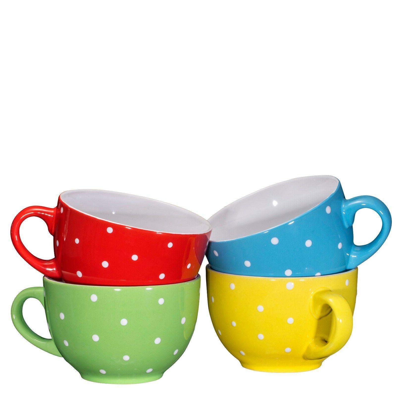 Bruntmor Cereal Coffee Mug 24 Set