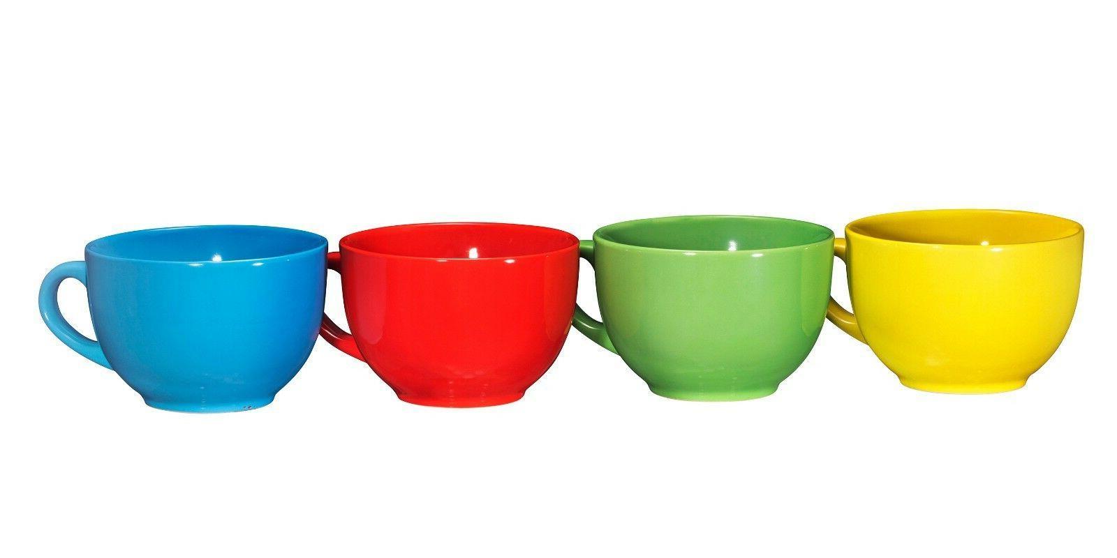 Bruntmor Wide Ceramic Coffee Set of