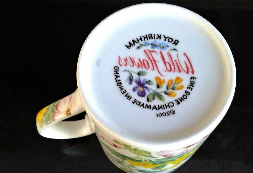 Roy KIRKHAM Wild Flowers Tea cup MUG