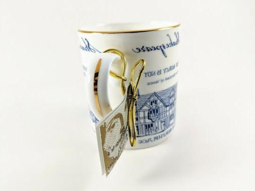 William Shakespeare Coffee Cup Bone China