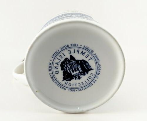 William Shakespeare Mug Cup Temple Bone