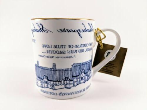 William Shakespeare Mug Cup Collection Bone China
