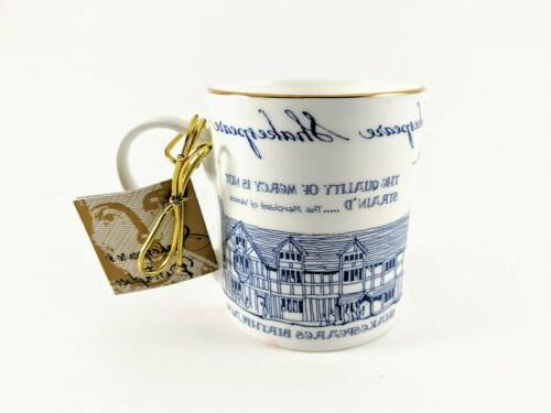william shakespeare coffee mug cup collection bone