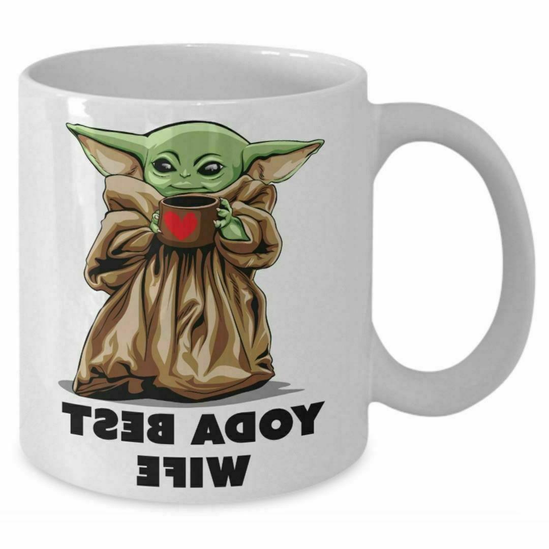 yoda wife 11oz coffee mug