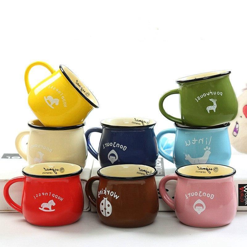 and <font><b>Mugs</b></font> <font><b>Mug</b></font> Enamel Breakfast Tea Creative Tool Gifts