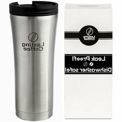 Lasting Coffee Leak Proof Dishwasher Safe Double Wall Vacuum
