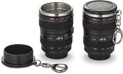Camera Lens Shot Glasses - Set of Two