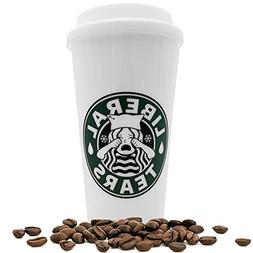 Liberal Tears Coffee Travel Mug Tumbler Starbucks Parody MAG