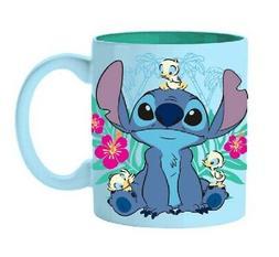 Disney Lilo And Stitch Floral Ducks Ceramic Coffee Mug 20-Ou