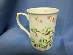 LINNEA free shipping FINE  BONE CHINA mug ADDERLEY CERAMICS,