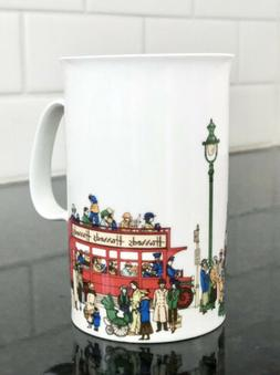 HARRODS LONDON Fine Bone China STREET SCENE / DOUBLE DECKER