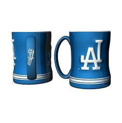 Los Angeles Dodgers Boelter MLB Relief Coffee Mug 14oz FREE