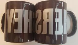 Lot of 2 : HERSHEY'S Chocolate Coffee Mug SINCE 1894