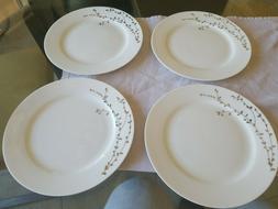 Lot of 4  Roscher Ciroa Oiseau Fine Bone China Salad plate W