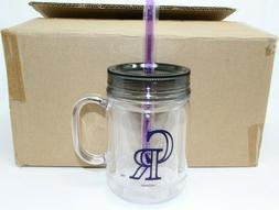 LOT OF 6 Colorado Rockies Mugs 20 oz Cups - BOELTER MLB ROCK