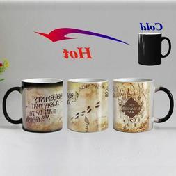 Magic Heat Mug Harry Potter Gift Coffee Tea Cups Color Hot D