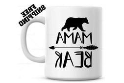Mama Bear coffee mug w/ large arrow  - Mothers day Gift -  B