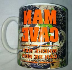 Man cave Where men can be men Coffee mug