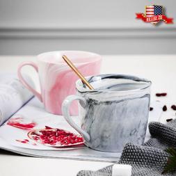 Marble Ceramic Coffee Mug Cup Tea Mug Breakfast Milk Cup Gre