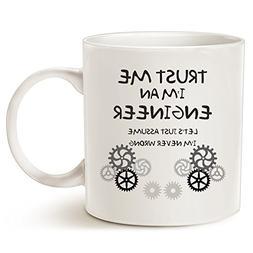 MAUAG Funny Engineer Coffee Mug - Unique Christmas Gifts Ide