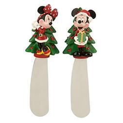 Disney Mickey and Minnie Mouse Christmas Holiday Spreader Bu