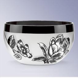 Lenox 5-Inch Midnight Blossom Bowl, Small, White