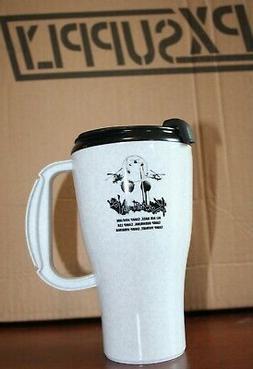 Military Travel Mug Plastic BPA Free Kuwait Now Coffee Cup M