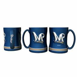 Milwaukee Brewers Boelter MLB Relief Coffee Mug 14oz FREE SH