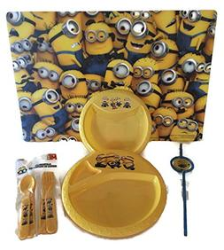 Minion Despicable Me Child's Serving Table Setting Utensils