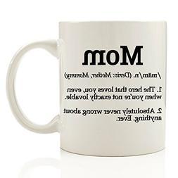 Mom Definition Funny Coffee Mug 11 oz - Top Birthday Gifts F