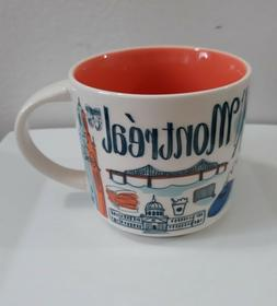 STARBUCKS  Montreal Canada Been There Series Coffee Mug New