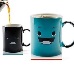 InGwest. Morning Coffee Mug. 11 ounce. Changing Color Mug Fo