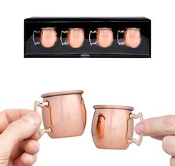 Moscow Mule Shot Glasses - 2-ounce