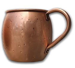 Solid Copper Moscow Mule Mug - 100% Pure Copper - Authentic
