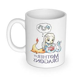 getDigital Mother of Dragons Mug | Coffee cup perfect for Po