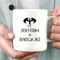 Mother of Dragons Coffee Mug   Game of Thrones Coffee Mug  
