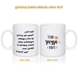 Mothers Birthday Ceramic Mug  Drink Cup Coffee Mug for Home