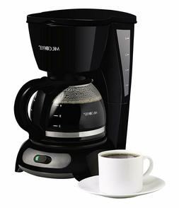 MR. COFFEE 4-CUP SWITCH COFFEE MAKER - BLACK TF5