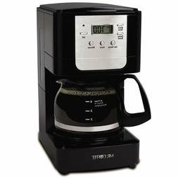 Mr. Coffee Advanced Brew 5-Cup Programmable Coffee Maker, Bl