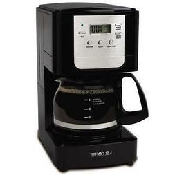 Mr. Coffee Advanced Brew 5-Cup Programmable Maker Black/Chro