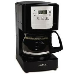 Mr. Coffee Advanced Brew 5-Cup Programmable Coffee Maker, Bl